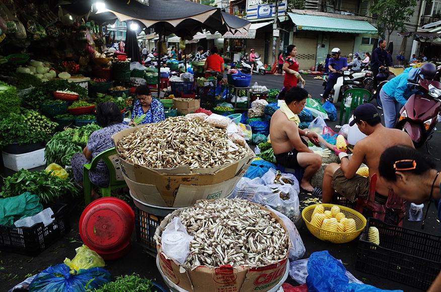 「Nguyen Tri Phuong Market」ホーチミン