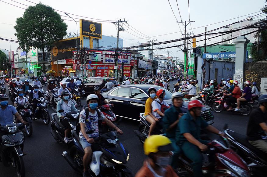 ハントンタイ市場(Hanh Thong Tay)ナイトマーケット