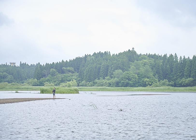 秋田 能代市「小友沼」