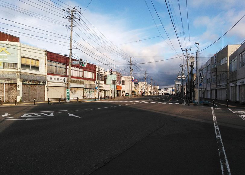 秋田県能代「ゴーストタウン」