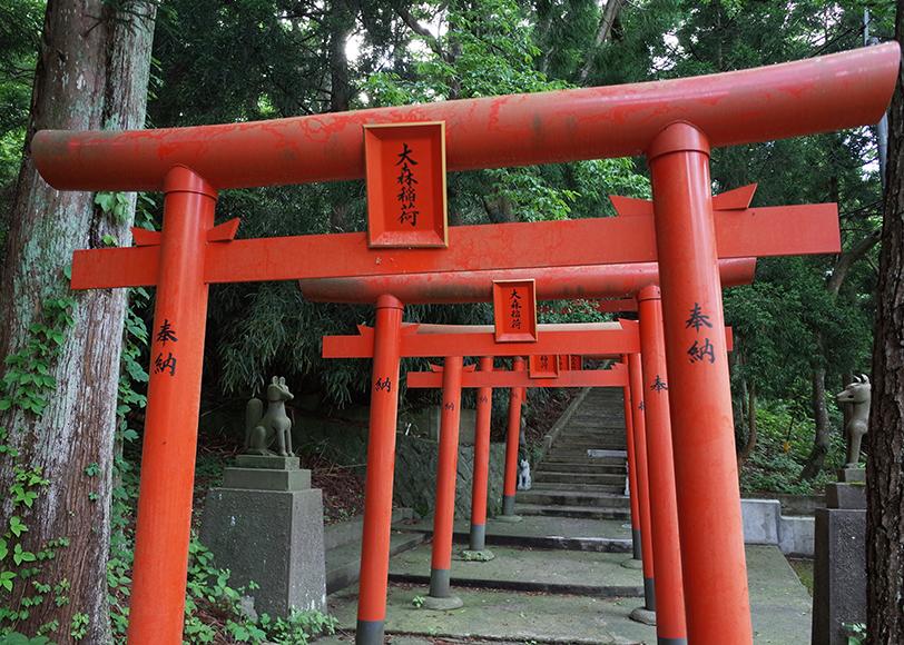 秋田県能代市「大森稲荷神社」